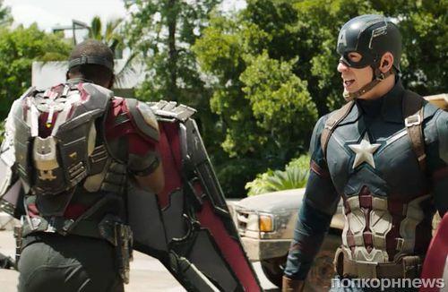 Новый фрагмент «Первый Мститель: Противостояние» показали на MTV Movie Awards