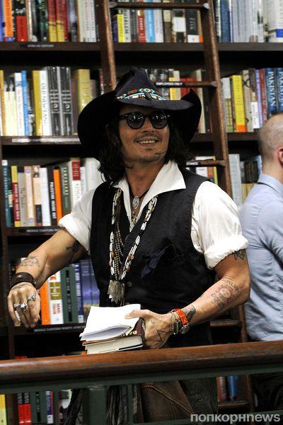 Джонни Депп подался в издательский бизнес