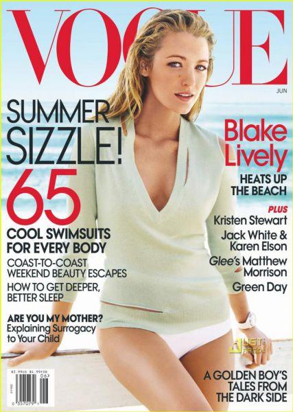Блэйк Лайвли в журнале Vogue. Июнь 2010