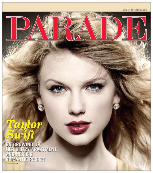 Тэйлор Свифт в журнале Parade. Октябрь 2010