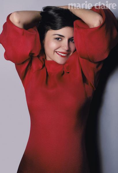 Одри Тоту в журнале Marie Claire. Август 2011
