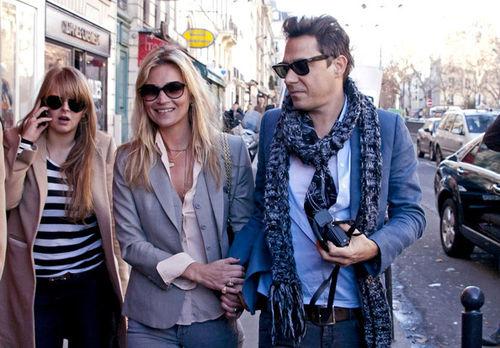 Кейт Мосс отметила день рождения в Париже