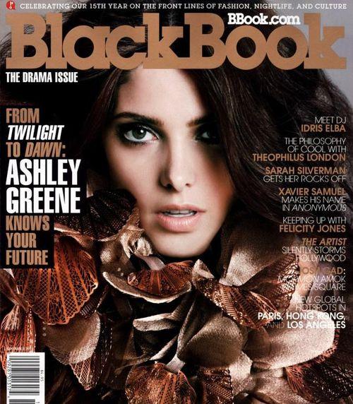 Эшли Грин в журнале BlackBook. Ноябрь 2011