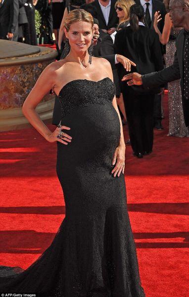 Хайди Клум действительно родила