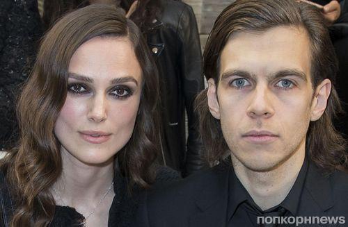 Кира Найтли с мужем побывала на показе круизной коллекции Chanel