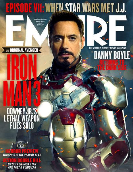 Новые характер-постеры и кадры «Железного человека 3»