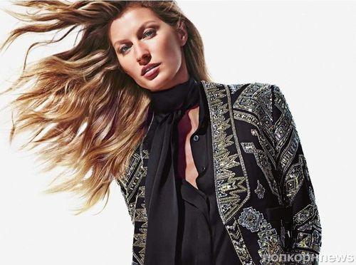 Жизель Бундхен в рекламной кампании Emilio Pucci. Осень / зима 2014: новые кадры