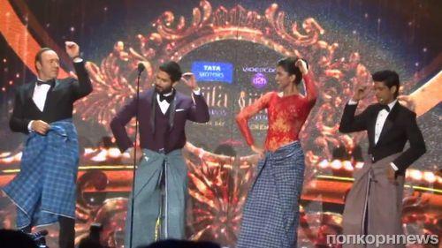 Видео: Кевин Спейси осваивает индийские танцы