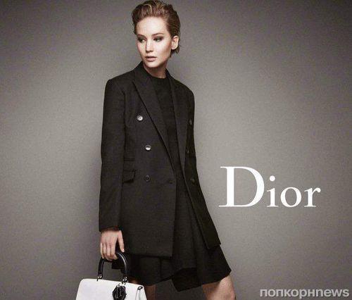 Дженнифер Лоуренс в рекламной кампании Miss Dior 2014: новые кадры