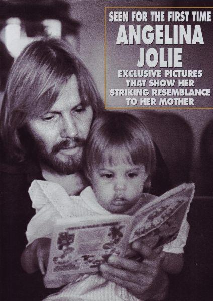 Анджелина Джоли: мать и дочь. Журнал Hello! 10 Февраля 2009