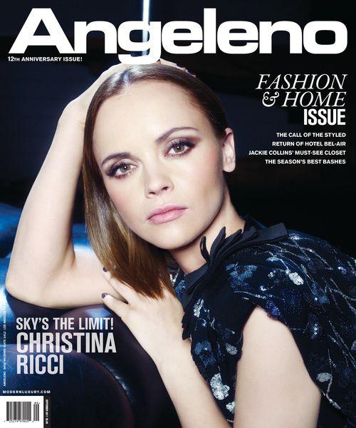 Кристина Риччи в журнале Angeleno. Сентябрь 2011