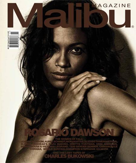 Розарио Доусон в журнале Malibu