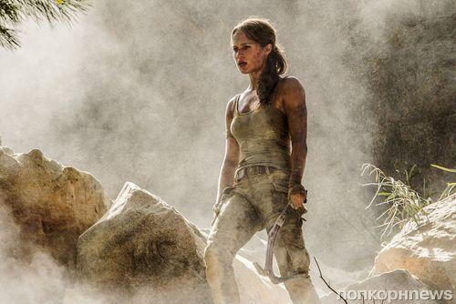 Первые кадры: Алисия Викандер в новой «Ларе Крофт»