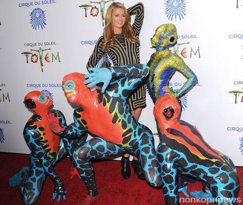 Звезды на шоу Cirque du Soleil