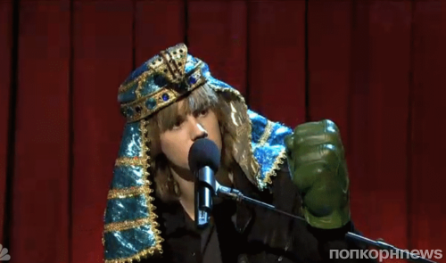 Видео: Вырезанный скетч SNL с участием Джастина Бибера