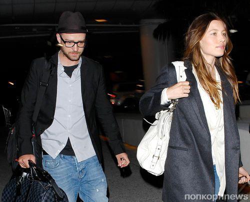 Джастин Тимберлейк и Джессика Бил покидают Голливуд ради сына