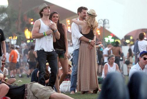 Звезды на фестивале Coachella 2011