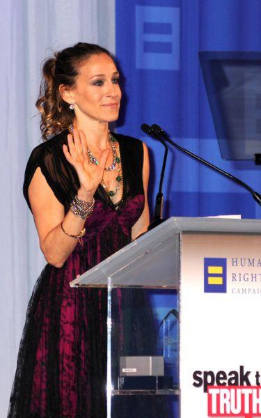 Сара Джессика Паркер на мероприятии по Защите Прав Человека