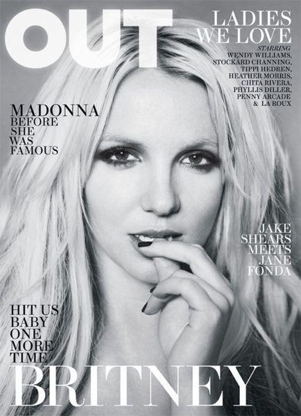 Бритни Спирс в журнале Out. Апрель 2011
