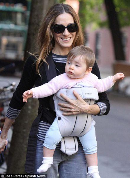 Сара Джессика Паркер - счастливая мама