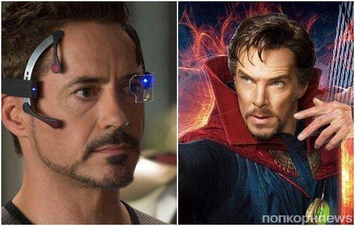 """Marvel обещает дуэт Доктора Стрэнджа и Тони Старка в """"Войне бесконечности"""""""