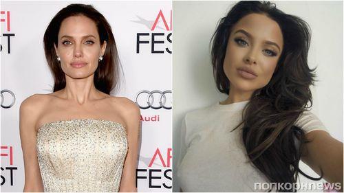 У Анджелины Джоли обнаружился очередной двойник