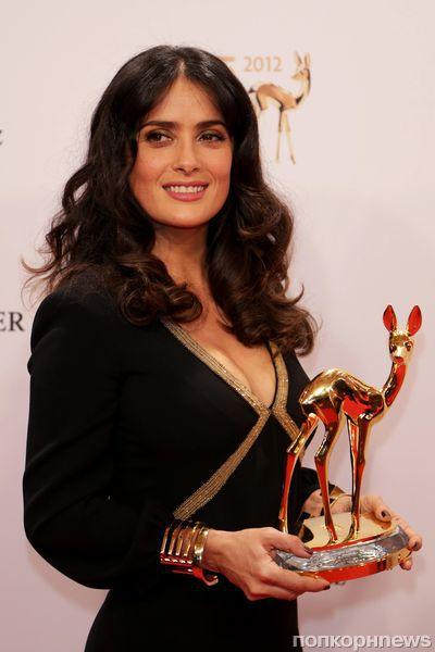 Сальма Хайек на церемонии Bambi Awards 2012