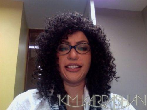 Ким Кардашиан примерила новое лицо