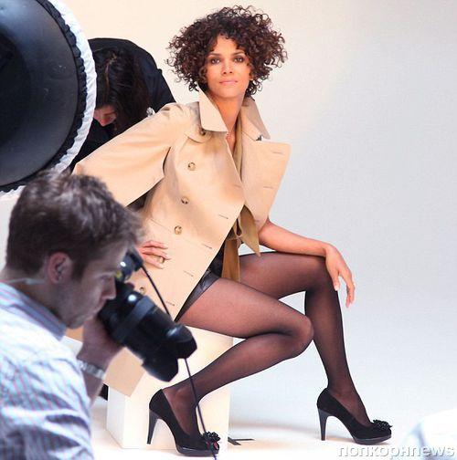Халли Берри на съемках новой рекламной кампании 5ths Avenue. Осень / зима 2012-2013