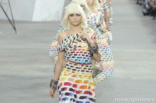 Модный показ новой коллекции Chanel. Весна / лето 2014