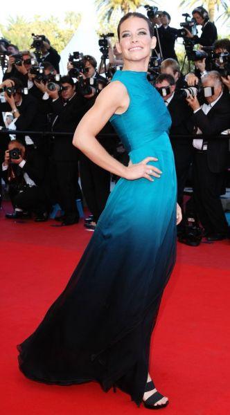 Эванджелин Лилли на Каннском кинофестивале 2009