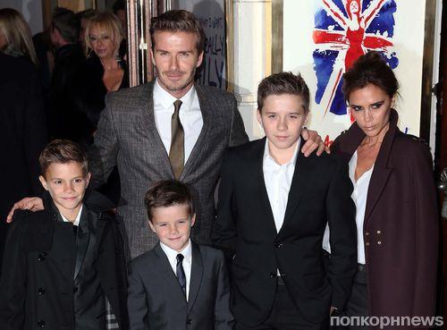 Семейство Бекхэм возвращается в Великобританию