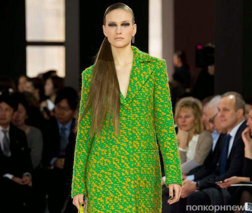 Модный показ новой коллекции Christian Dior. Осень / зима 2015-2016