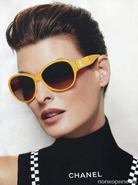 Линда Евангелиста в рекламе очков Chanel: первый взгляд