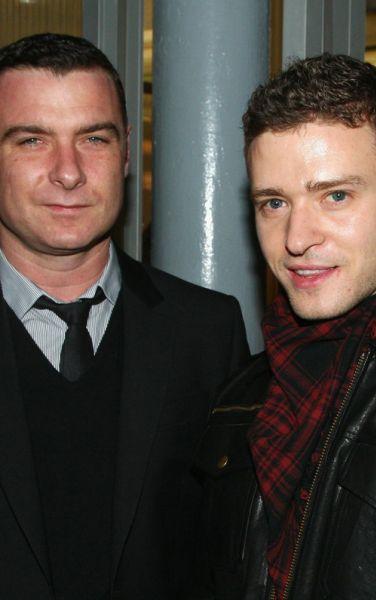 Джастин Тимберлейк и Лив Шрайбер на благотворительном вечере в Нью-Йорке