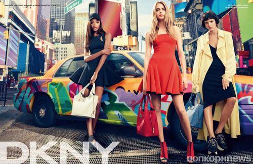 Рекламная кампания DKNY. Весна - Лето 2014