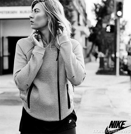 Мария Шарапова снялась в рекламной кампании Nike: первые кадры