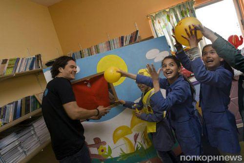 Орландо Блум посетил Иорданию с благотворительной миссией