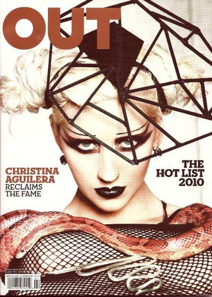 Кристина Агилера в журнале Out. Июнь 2010