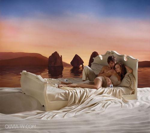 Промо-ролик календаря LAVAZZA с Оливией Уайлд