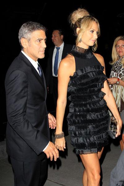 Стейси Киблер живет с Джорджем Клуни «одним моментом»