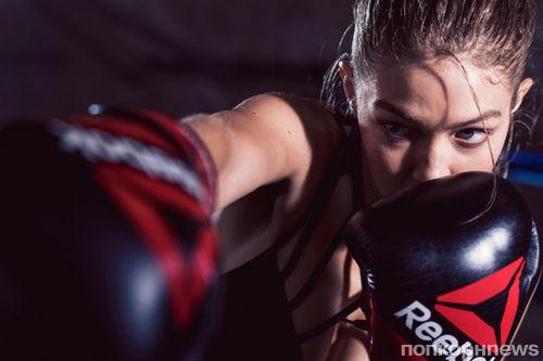 Джиджи Хадид показала боксерские навыки в новой рекламе Reebok