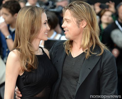 Брэда Питта и Анджелину Джоли пытались ограбить