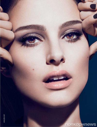 Натали Портман в рекламной кампании туши Dior