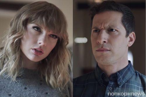 Тейлор Свифт и Энди Сэмберг снялись в промо нового видео сервиса певицы