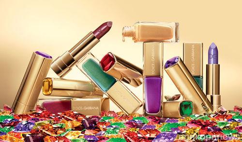 Рождественская коллекция макияжа от Dolce & Gabbana