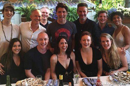 Премьер-министр Канады приехал в гости на съемки «Людей Икс: Темный Феникс»