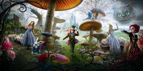 """Полная версия песни """"Strange"""" для """"Алисы в стране чудес"""""""