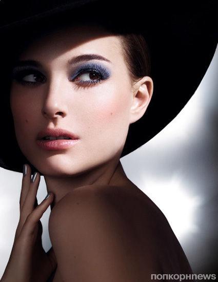 Натали Портман в рекламной кампании теней Dior Mono Eyeshadow Collection. Весна 2013