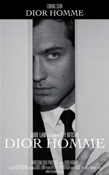 Джуд Лоу для Dior Homme